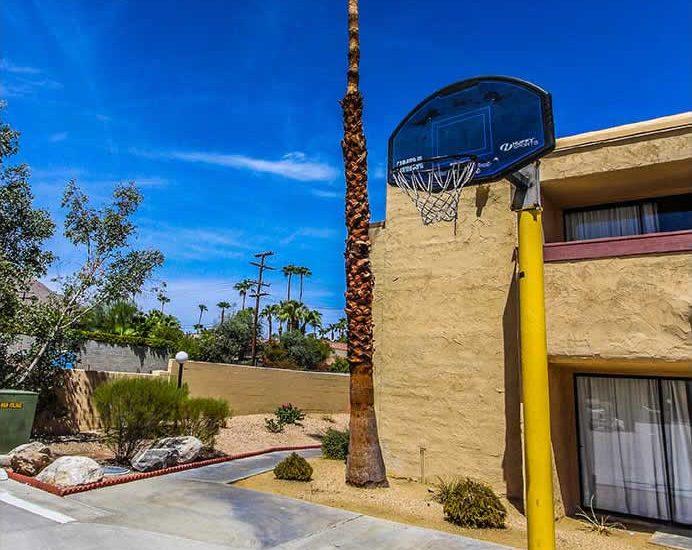 Photo of Basketball Hoop.