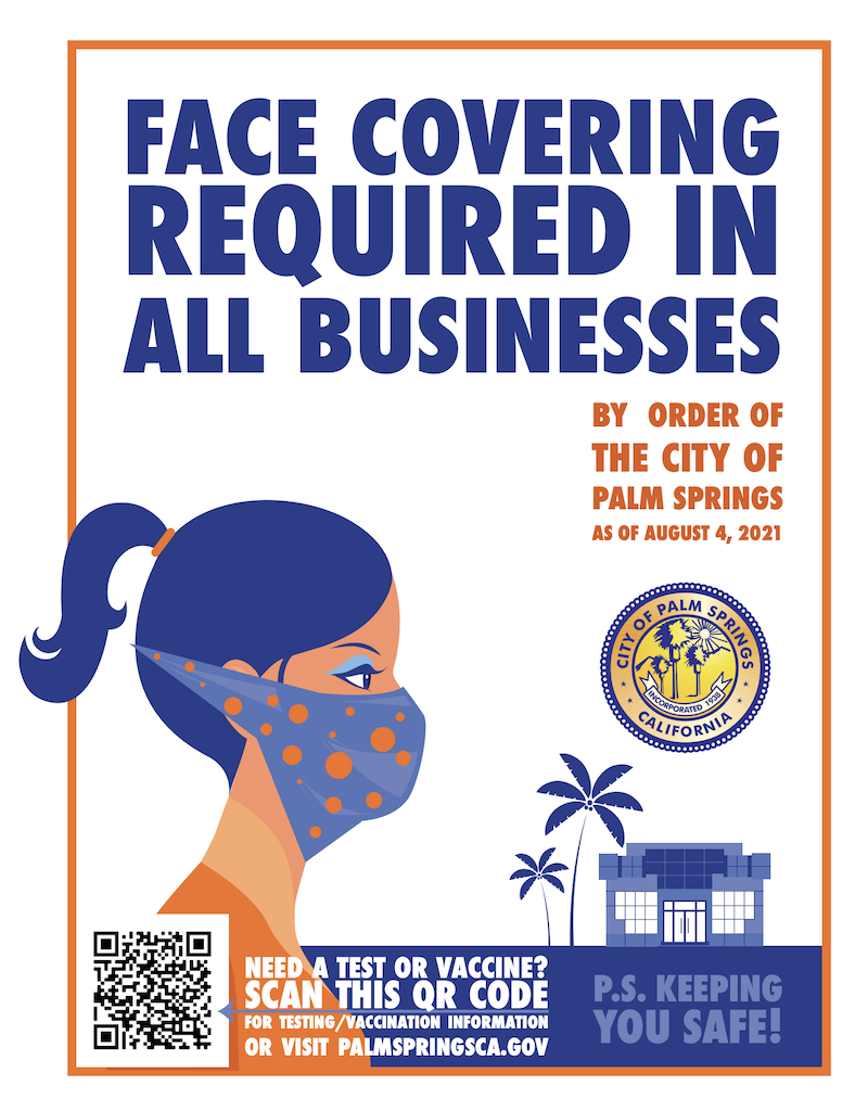 Face covering required in all businesses